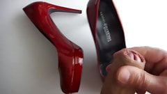 Load red heels