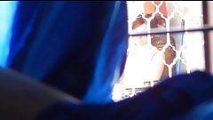 Flash girl watching me 2 (paja en boxer)