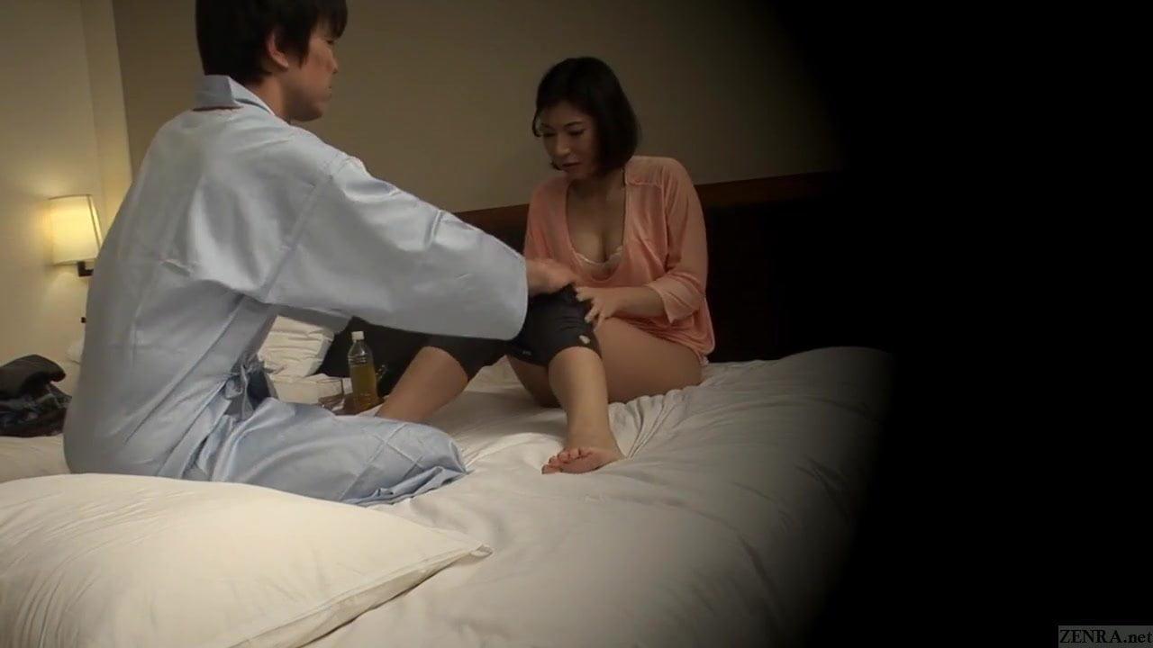 Subtitled Japanese resort therapeutic massage oral intercourse nanpa
