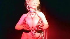 Large Breasts and Burlesque Dancing (1980s Vintage)