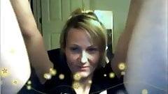 Big Blonde Feet of Nordic-Western Women Webcam Compilation
