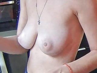 very nice puffy saggy boobs