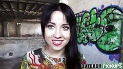 it`s very HOT  brunette Russian teen Taissia Shanti fucking for money