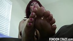 You will love pampering our 18yo feet