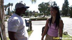 Ebony girl Rhianna Ryan looking for a job