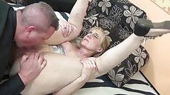 Grandma fucks son-in-law