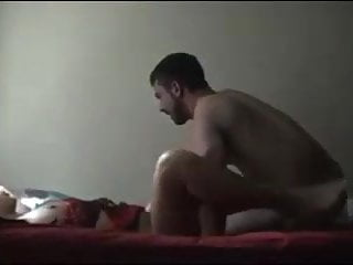 19 year old couple fuck in dorm with creampie