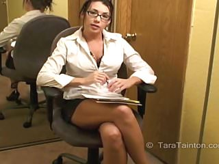 Court Appointed Counselor Assesses Your Cock - Tara Tainton