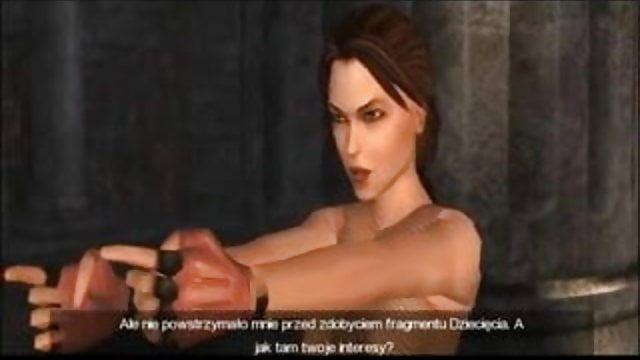 Ninas Naked Tomb Raider Girl Topless