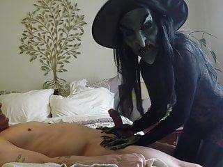 Crazy witch...