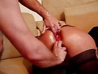 Large Anal Toys And Fist Loud