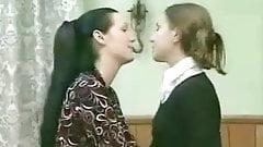 MILF seduces young school girl