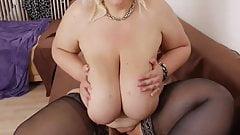 Jessy  Sexy German BBW Strip Tease #1