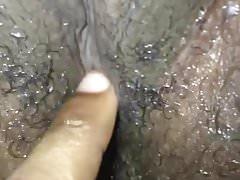 Wet ebony pussy