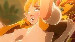 tloz Zelda fuck's Thumb
