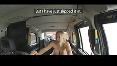 TAXI-Blonde caught a men and fuck amazing's Thumb
