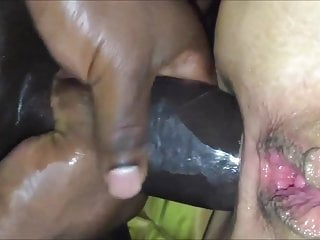 Taking His Monster Cock In Her Anus Equals Squirting Orgasm