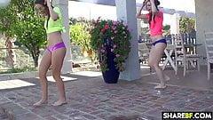 Two Bikini Babes Share a Boyfriend