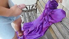 Sexy Bitch Prom Dress Fucked with 50 Million Ropes of Cum
