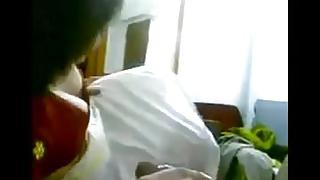 newly married desi indian big boob hot wife sucking