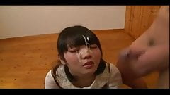 Cute asian facial