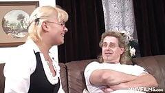 Blonde German Teen Does Her Stepdad