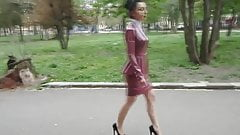 Latex Business Outfit