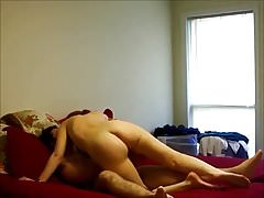 Hot ass wife fucked at home