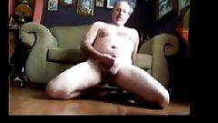 daddy bear cumming on the floor