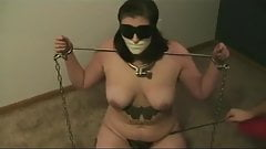 Amateur Chained Girl tries to Escape and then Tormented