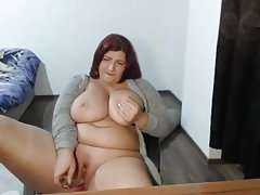 Big Natural Tits MILF Webcam