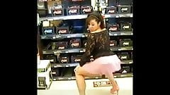 Caramel Kitten Twerking by the Batteries Walmart