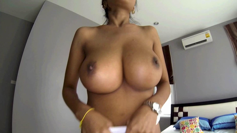 Help me suck my huge titties