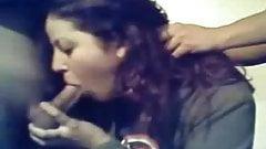 Girl sucks off two classmates on webcam