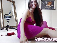 Lelu Love-WEBCAM: BTS Sybian Dildo Riding Orgasms