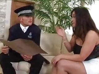 Cathy Barry Fucks A Cop