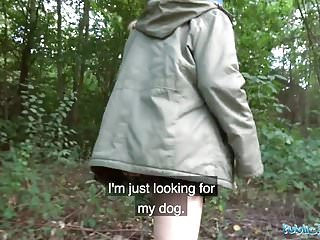 Preview 2 of Public Agent Lost dog leads to hot outdoors sex