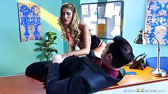 Brazzers - August Ames - Big Tits at Work porn image