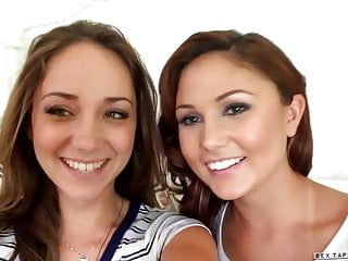 Ariana Marie and Remy LaCroix at Sextape Lesbians