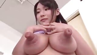 MASSIVE ASIAN NIPPLE GETTING FUCKED BY A COCK