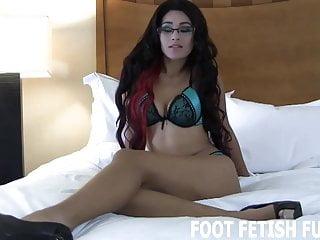 I love it when a guy licks my feet