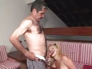 Daddy fucks his daughter's friend