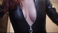 BJ in leather joi