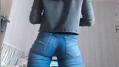 Jeans awesome tease