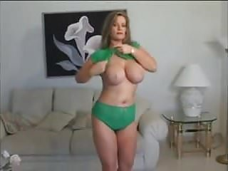 Red hot milf lacey stripping