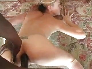 Interracial Gangbang Creampie For A Teen Blonde Slut