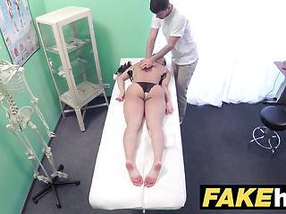 Preview 2 of Fake Hospital Cock hungry oriental French chick gets fucked