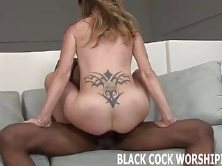 Nothing makes me cum harder than a big black cock
