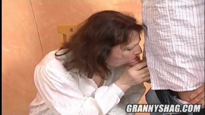 Hungarian Granny Getting Fucked Hard