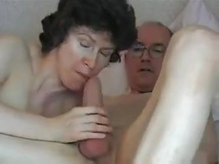 Swallowing Grandpa S Big Cock